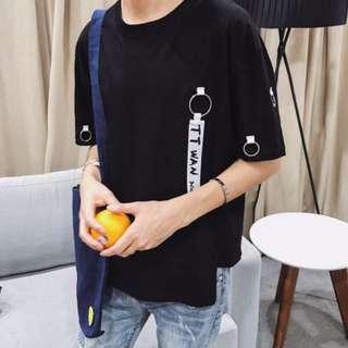 [INSTOCK] Korean Style Black Men's Fashion Tee