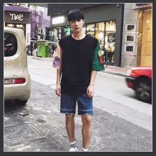 [INSTOCK] Oversized Korean Streetwear Design Men's Tee