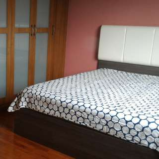 Spacious single/double room for rent in beautiful 3 storey landed home!