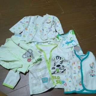 Baju Baby Lengan Panjang