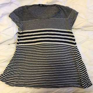 Sportsgirl Xxs Striped T Shirt