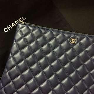Chanel Clutch Navy