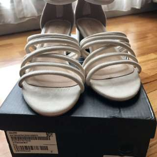 Zalora Strappy Block Heels