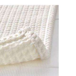 IKEA白色編織腳踏墊