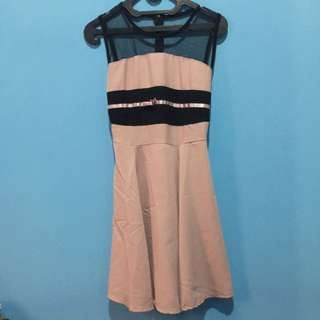 Dress Pink Nude