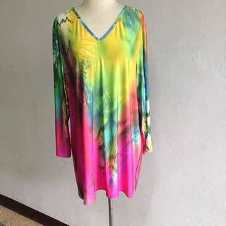 Criselda Lontok LS Printed Jersey Top