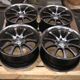 Raxer Used Rims Only (Without Tyres)