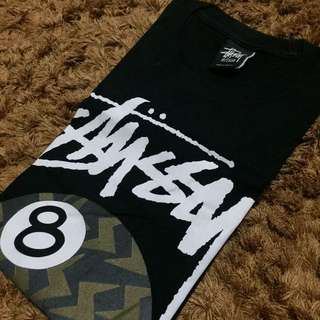 Authentic Stussy 8 Ball T-Shirt sz M (used by me)