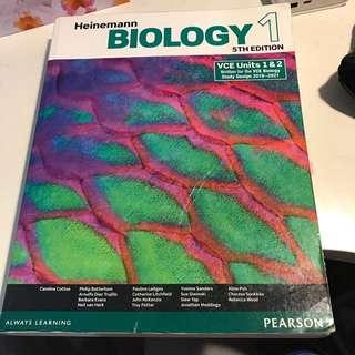 BIOLOGY VCE UNIT 1&2 HEINEMANN Textbook