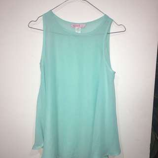 Turquoise Summer Top