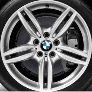"""BMW F19"""" M-sport Wheels w/Tyres"""