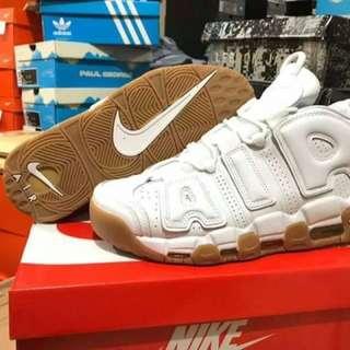 Open Pre Order Nike Air Uptempo White Gum