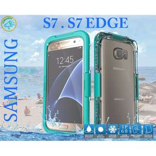 READY STOCK!!! Samsung S7 , S7 Edge Waterproof casing (*FREE DELIVERY)