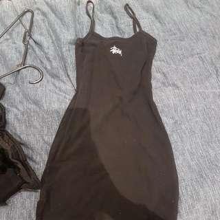 Stussy Black Singlet Dress