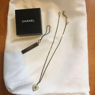 Chanel 復古風山茶花頸鏈 100%真品