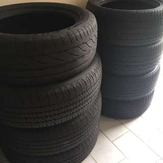 Second Hand Tires For Sale