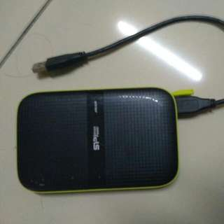 External Hard Disk Silicon Power.  Shockproof