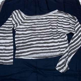 Gaudi Stripes Crop Top