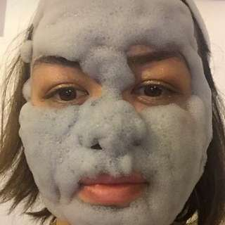 Carbonated Clay Face Mask!