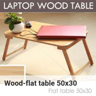 [READY STOCK] Laptop Wood Table.👌👌👌