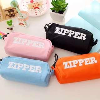 Creative Zipper Design Pencil Case/ Makeup Case
