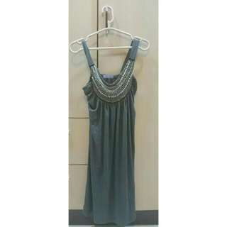 歐美名媛風*胸前水鑽滿滿小洋裝/小禮服