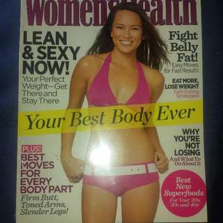 Women's Health Your Best Body Ever! 💝