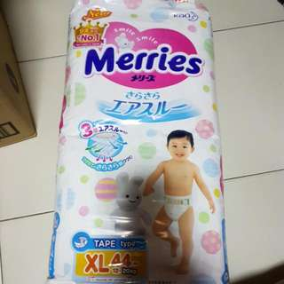 Made In Japan Merries Tape Diapers XL