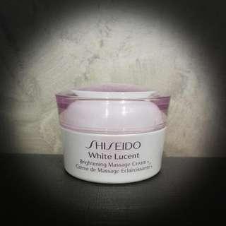 shiseido massage cream