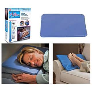 Chillow Soothing and Cooling Comfort Pillow (Light Blue)