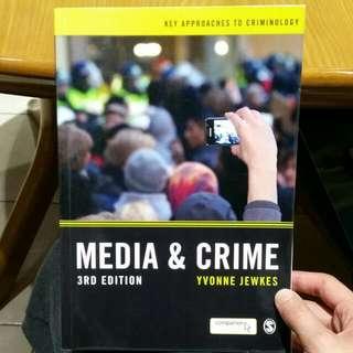 Media & Crime 3rd Ed