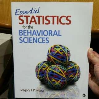 Essential Statistics for the Behavioural Sciences