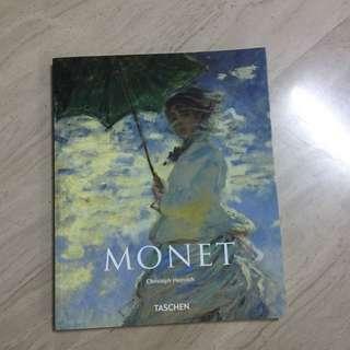Monet Art book