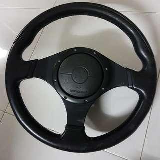 Mitsubishi Evo 9 Steering Wheel