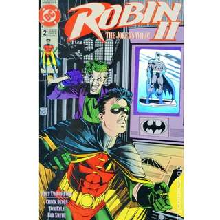 3 books for $10 Robin 2 The Joker's Wild (1991) #2A 2B 2N unread,bagged,not boarded