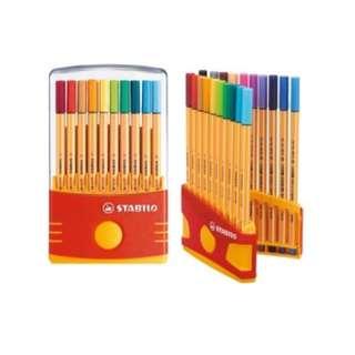STABILO Point 88 Color Parade 20 Colours