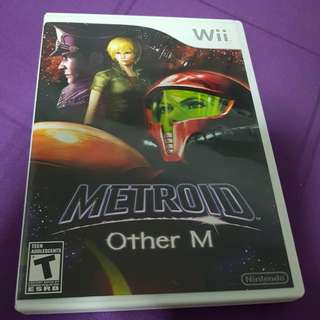 Wii Game Metroid Other M