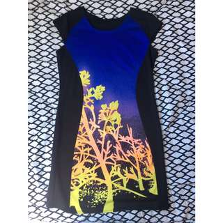 Floral Bodycon (used once- good as new)
