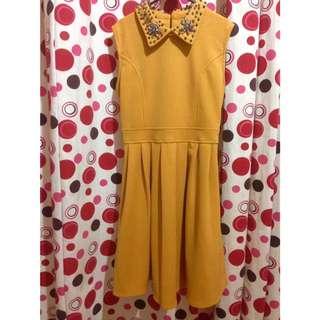Mustard Dress (REPRICE)