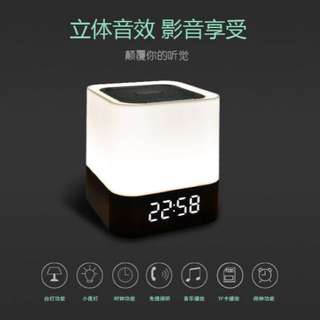 LED 藍芽多功能音箱