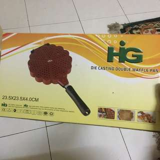 Die Casting Double Waffle Pan