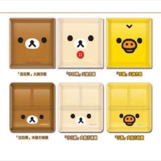 7-11 經典拉拉熊 美味陶瓷大方盤