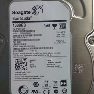 1 Terabyte Internal HDD (Seagate)