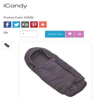 Icandy新生兒推車包巾