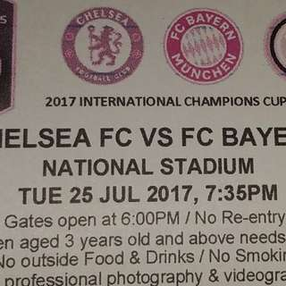Chelsea vs Bayern Match Ticket, Fast selling