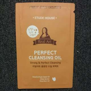 *FREE SHIPPING* Etude House Perfect Cleansing Oil Sample