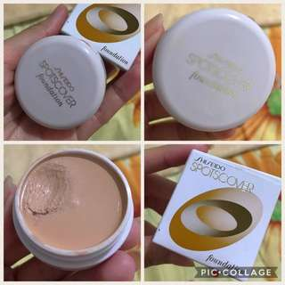 Shiseido Spotcover Foundation/Concealer