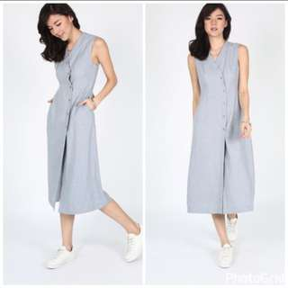 Love Bonito Janeth Tailored Midi Dress