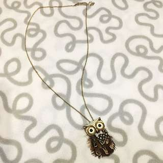 Accesorizes Owl Necklace