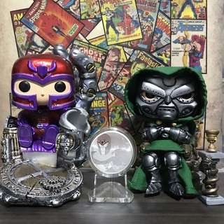 Custom Pop XM Magneto And SS Dr Doom